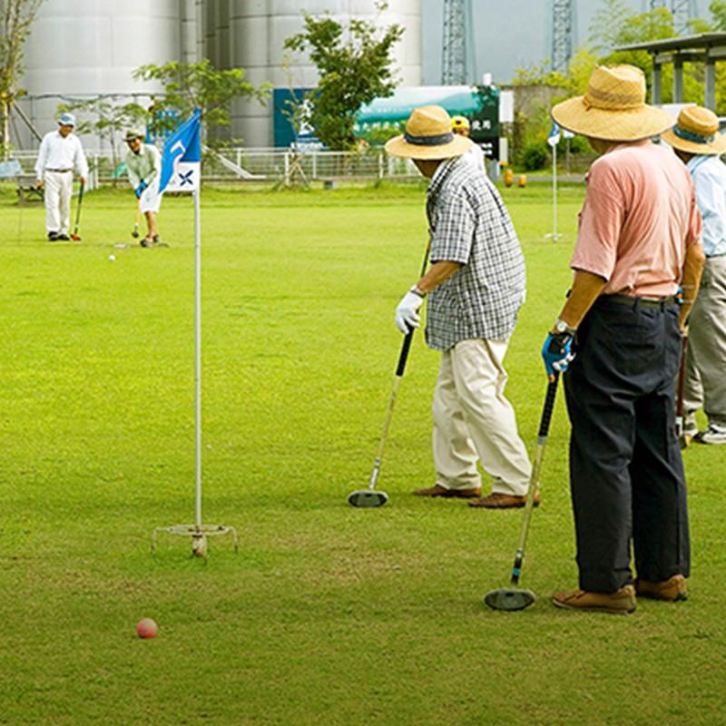 写真:グラウンド・ゴルフ場