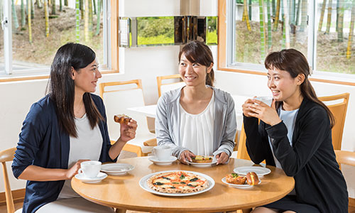 写真:焼酎モロミパンの美味しい食べ方