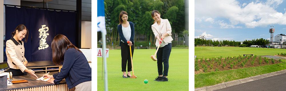 写真:グラウンド・ゴルフ