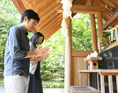 写真:霧島焼酎神社